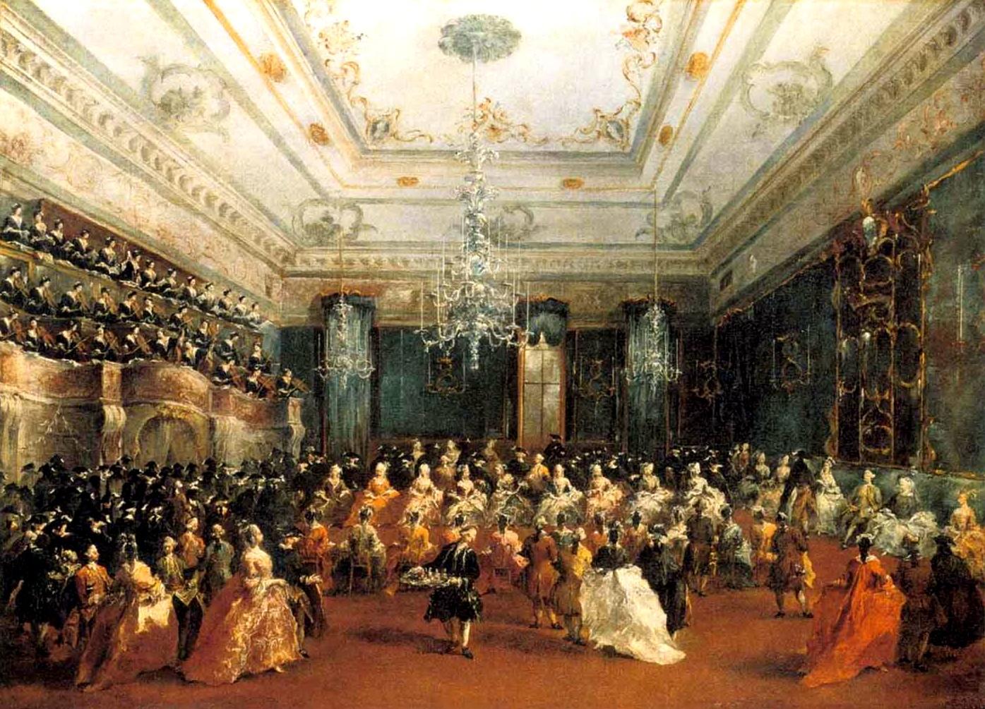 Франческо Гварди. Парадный концерт в Венеции (1782 год)