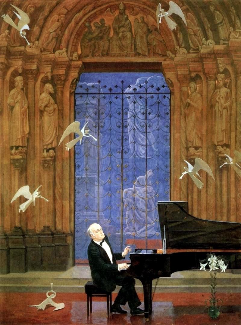 Дмитрий Жилинский. Играет Святослав Рихтер (1984-1985 годы)
