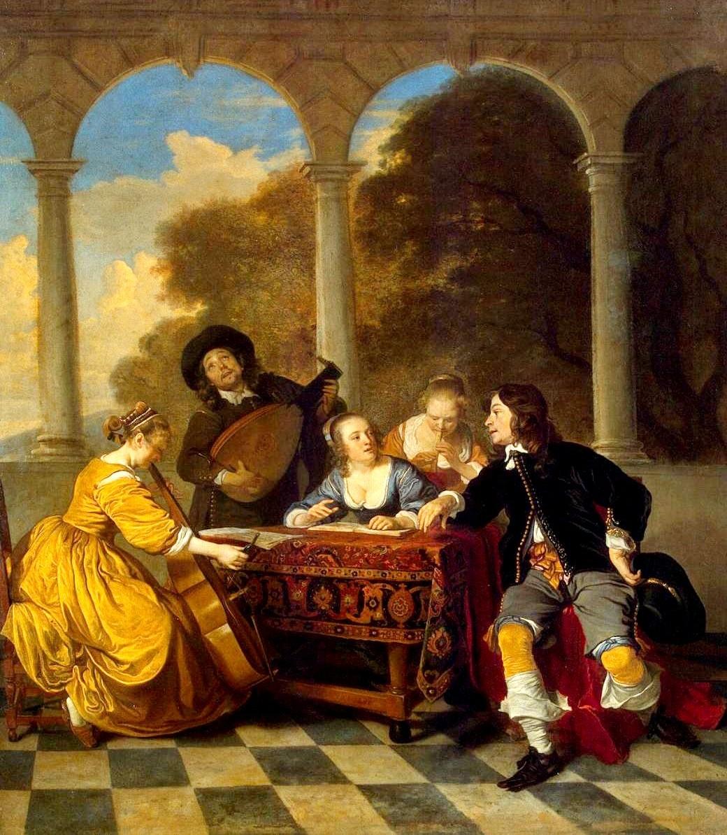 Якоб ван Лоо. Концерт (1650-1652 гг.)