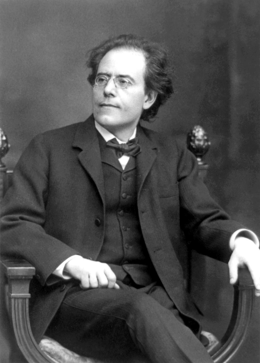 Густав Малер (фото 1909 г.)