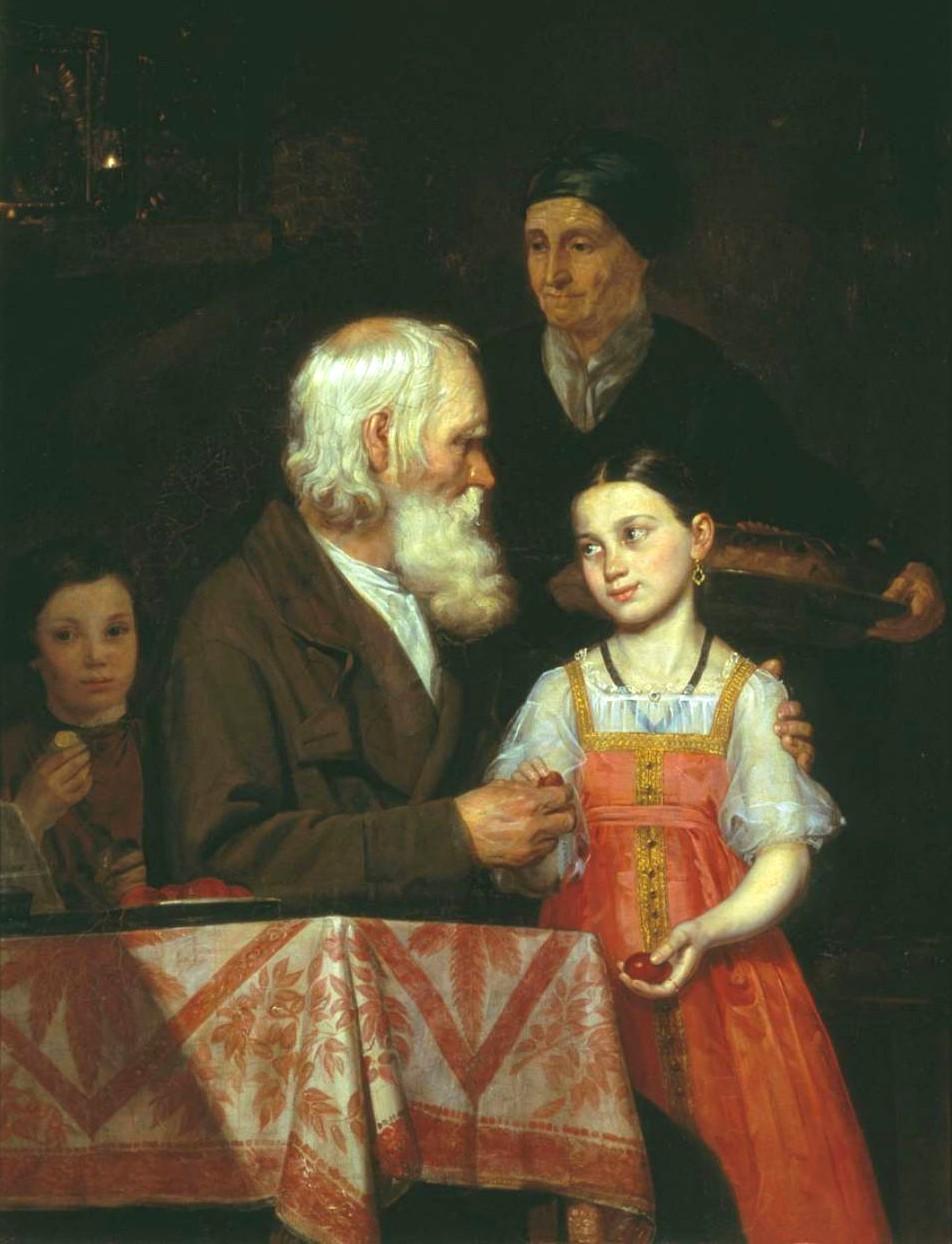 Михаил Мохов. Пасха (1842 г.)