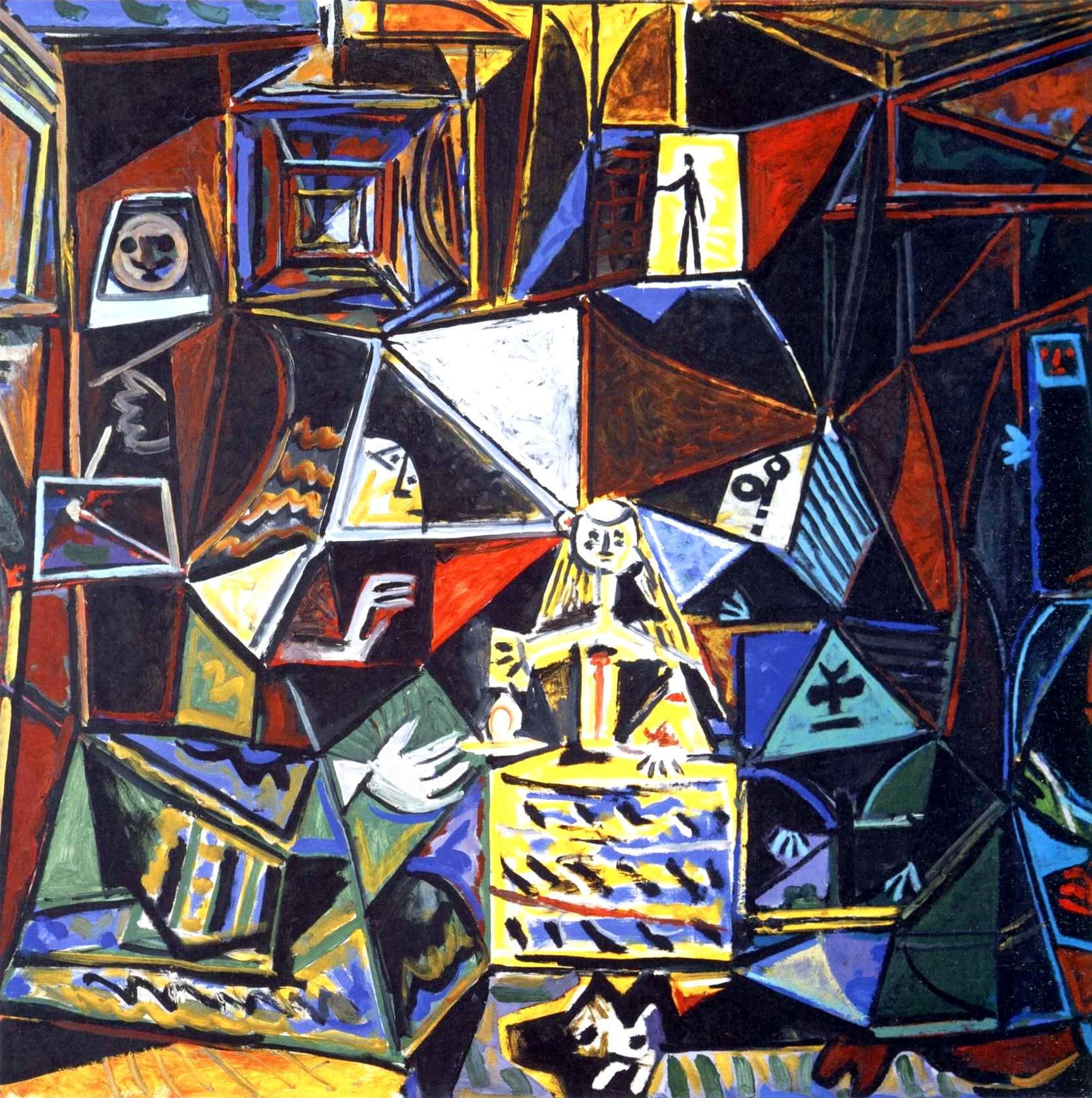 Пабло Пикассо. Отражения - Метаморфозы. По Веласкесу. Менины (1957 год)