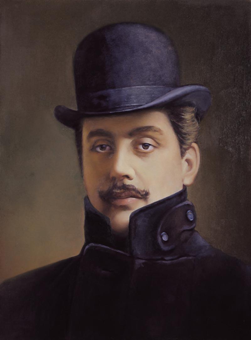 Джакомо Пуччини (1858-1924), итальянский композитор