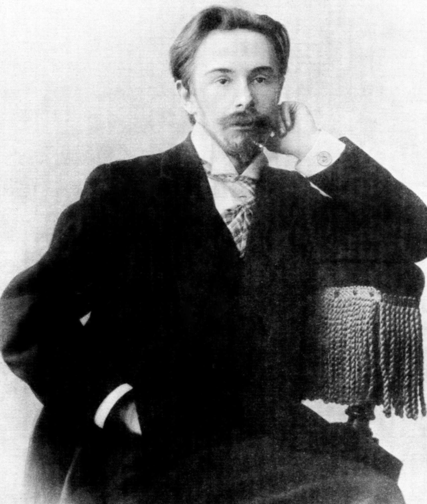 Скрябин Александр Николаевич (1872-1915), русский композитор (фото 1900 года)
