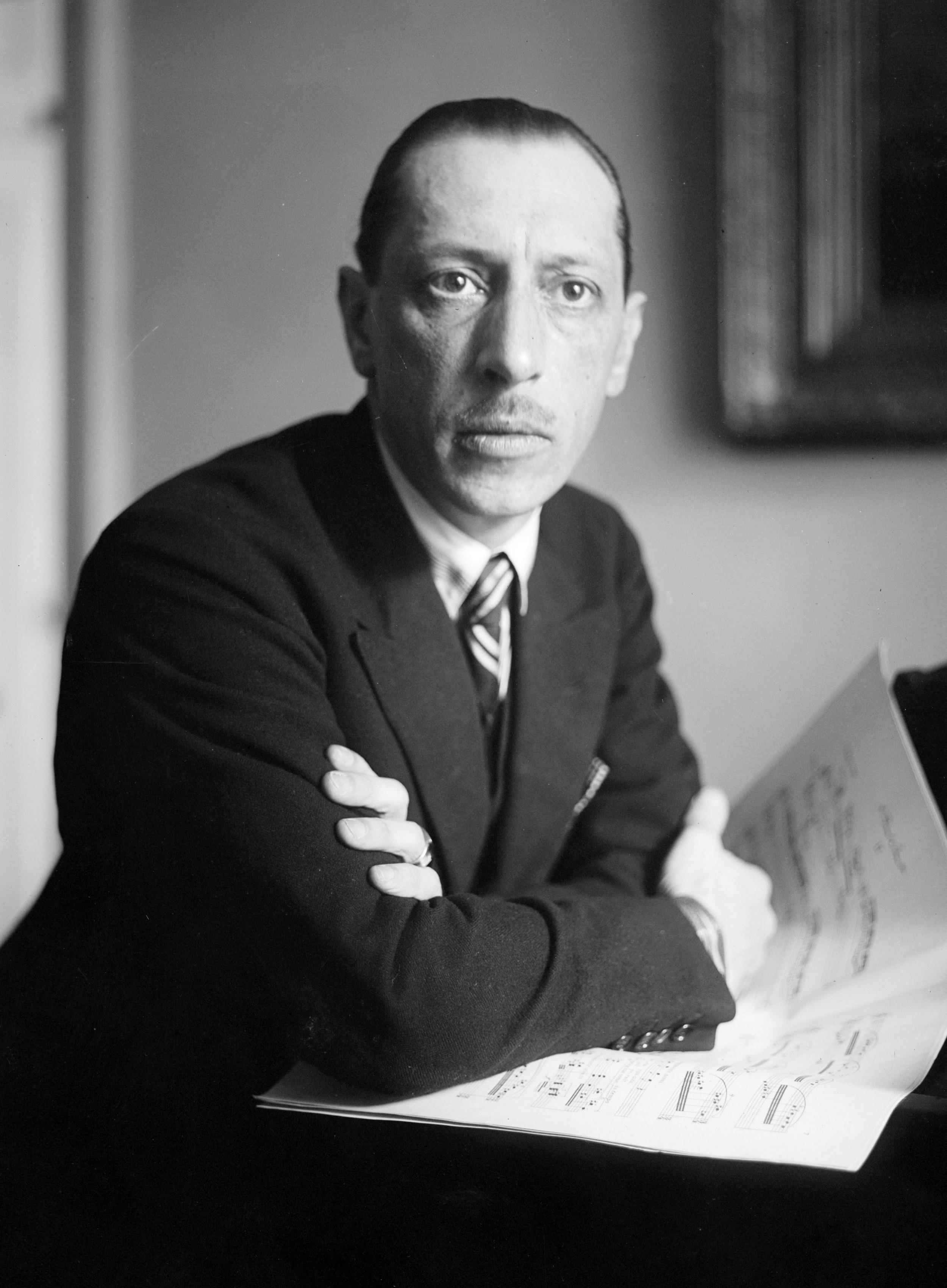 Игорь Фёдорович Стравинский (1882 – 1971), русский композитор, дирижёр и пианист