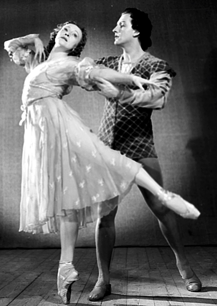 Галина Уланова и Юрий Жданов в балете «Ромео и Джульетта»