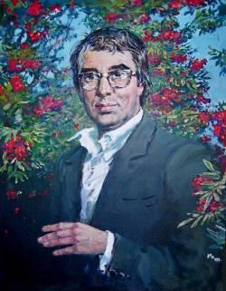 Валерий Александрович Гаврилин (1939-1999), советский и российский композитор (портрет кисти Михаила Копьева)