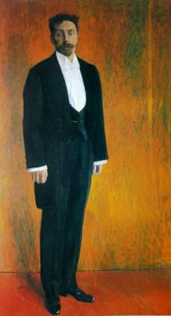 Александр Николаевич Скрябин. Портрет кисти Александра Головина (1915 г.)