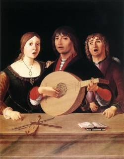 Лоренцо Коста. Концерт (1485-1495)
