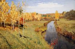 Исаак Левитан. Золотая осень (1895 г.)