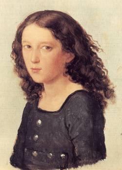 Феликс Мендельсон в возрасте 12 лет (портрет кисти Карла Джозефа Бегаса, 1821 г.)