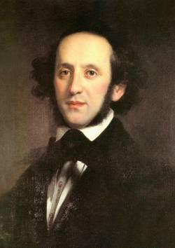 Феликс Мендельсон-Бартольди, немецкий композитор и дирижёр (портрет кисти Эдуарда Магнуса, 1846г.)