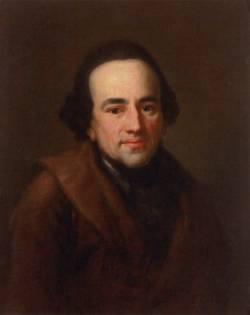 Мозес Мендельсон, дед Феликса (портрет Антона Графа, 1771 г.)