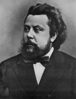 Модест Петрович Мусоргский (1839-1881), русский композитор, член «Могучей кучки»