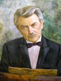 Генрих Нейгауз (1888-1964), русский пианист и педагог (портрет кисти Елены Кишкурно)