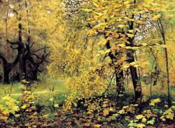 Илья Остроухов. Золотая осень (1886 г.)