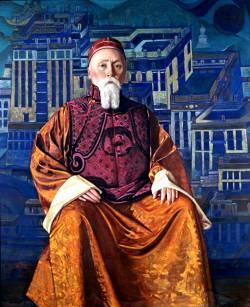 Рерих Николай Константинович, русский художник (портрет кисти Николая Рериха)