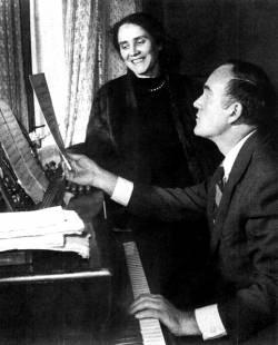 Святослав Рихтер и Нина Дорлиак (фото)