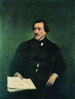 Джоакино Россини (портрет кисти Франческо Айеца)