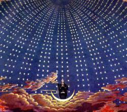 Карл Фридрих Шинкель. Эскиз декораций к опере В. А. Моцарта «Волшебная флейта» (1816)