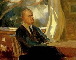 Ян Сибелиус за роялем (1920 г.)