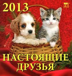 Календарь на 2013 год: Настоящие друзья
