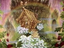 Картинки с выставки: Избушка на курьих ножках, Балет невылупившихся птенцов