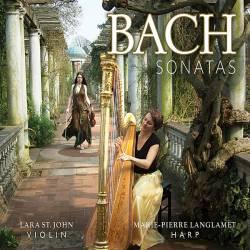 Lara St. John, Marie-Pierre Langlamet. Bach: Sonatas