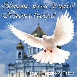 Звучите, песни, до небес! Христос воскрес!